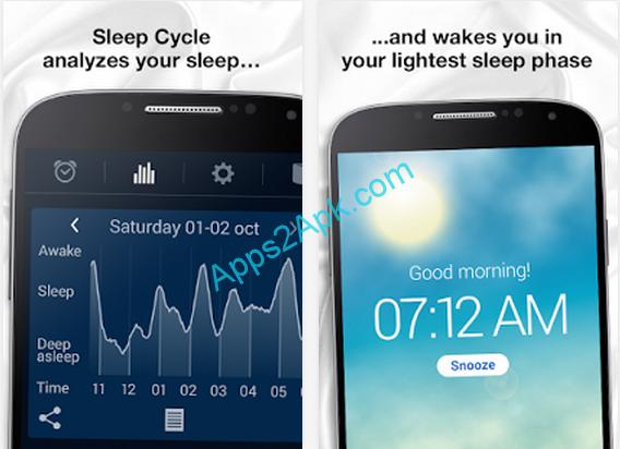 Immagine di due schermate dell'app