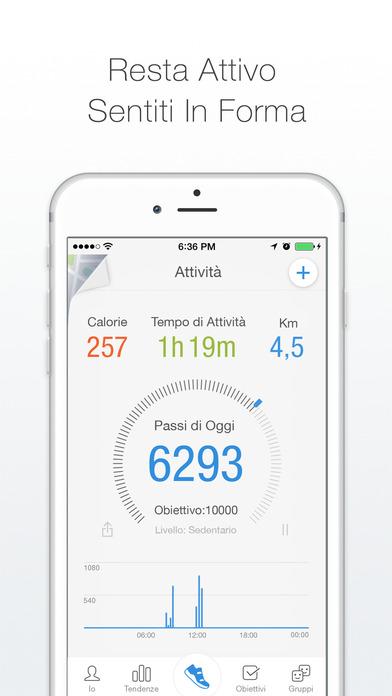 Schermata dell'applicazione tratta dall'Ap Store