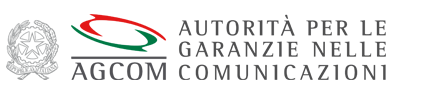 logo dell'agCom