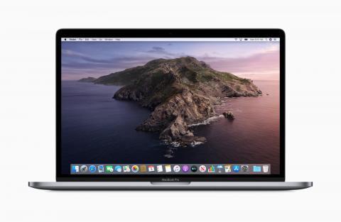 MacOS Catalina su di un Macbook Pro