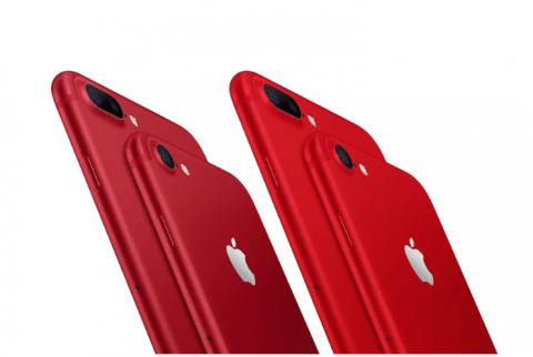 foto del nuovo iPhone8 rosso