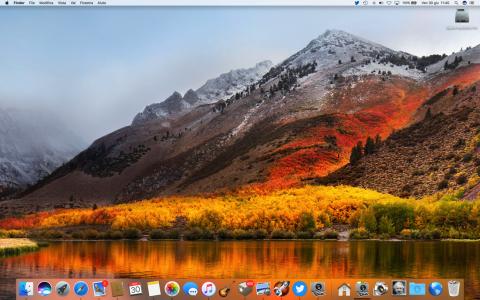 Sfondo di Mac OS High Sierra