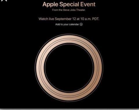 Immagine evento Apple Settembre 2018