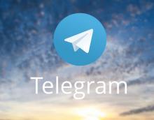 immagine del logo di Telegram sull'apstore