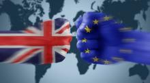 Logo del referendum Brexit in inghilterra