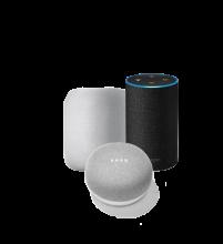 Collage smart speaker
