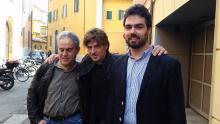 Foto raffigurante Antonio Casanova, Giacomo Parmeggiani e Vainer Broccoli