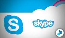immagine di una schermata iniziale di skype