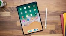 Foto del nuovo iPad 2018